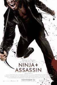 Ninja Assassin - 43 x 62 Movie Poster - Bus Shelter Style A