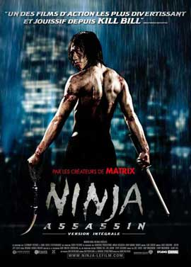 Ninja Assassin - 11 x 17 Movie Poster - French Style B