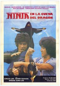 Ninja in the Dragon's Den - 27 x 40 Movie Poster - Style A