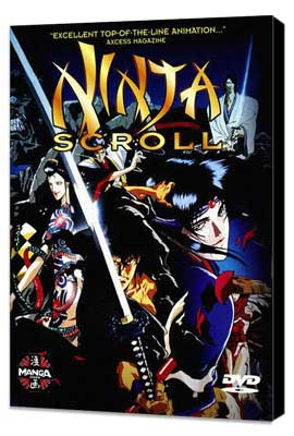 Ninja Scroll - 27 x 40 Movie Poster - Style A - Museum Wrapped Canvas