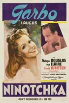 Ninotchka - 11 x 17 Movie Poster - Style E