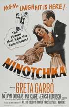 Ninotchka - 11 x 17 Movie Poster - Style F