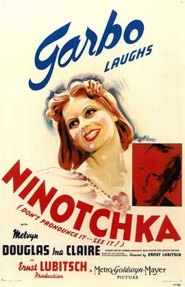 Ninotchka - 11 x 17 Movie Poster - Style A