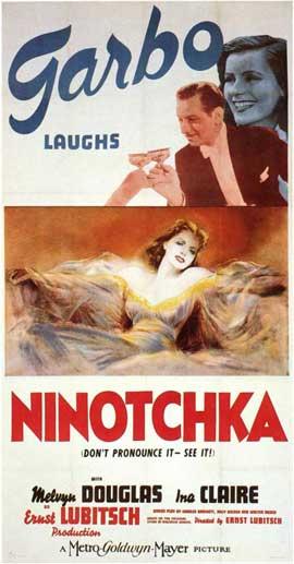 Ninotchka - 11 x 17 Movie Poster - Style B