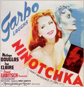 Ninotchka - 11 x 17 Movie Poster - Style C