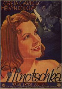 Ninotchka - 11 x 17 Movie Poster - German Style A