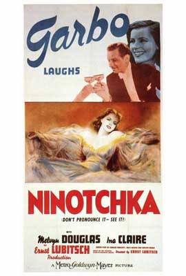 Ninotchka - 27 x 40 Movie Poster - Style B