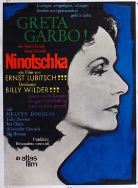 Ninotchka - 11 x 17 Movie Poster - German Style B