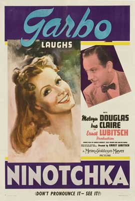 Ninotchka - 27 x 40 Movie Poster - Style A