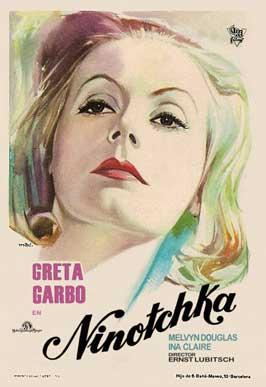 Ninotchka - 11 x 17 Movie Poster - Spanish Style A