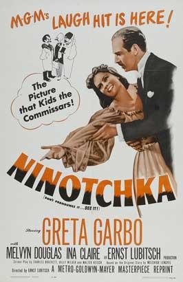 Ninotchka - 27 x 40 Movie Poster - Style C