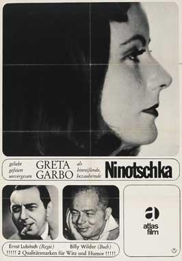 Ninotchka - 11 x 17 Movie Poster - German Style D