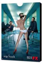 Nip/Tuck (TV) - 11 x 17 TV Poster - Style O - Museum Wrapped Canvas