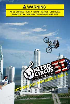 Nitro Circus: The Movie - 11 x 17 Movie Poster - Style A