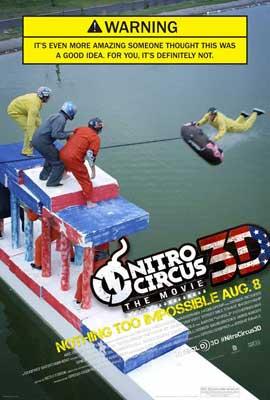 Nitro Circus: The Movie - 27 x 40 Movie Poster - Style B