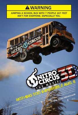 Nitro Circus: The Movie - 27 x 40 Movie Poster - Style C