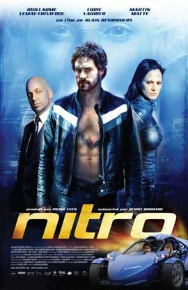 Nitro - 11 x 17 Movie Poster - French Style A