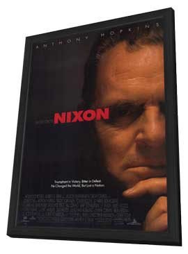 Nixon - 11 x 17 Movie Poster - Style A - in Deluxe Wood Frame