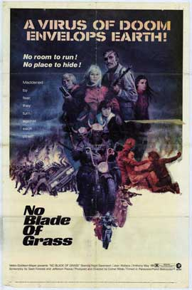 No Blade of Grass - 11 x 17 Movie Poster - Style A