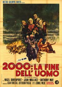 No Blade of Grass - 47 x 62 Movie Poster - French Style A