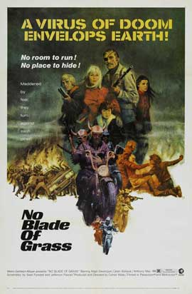 No Blade of Grass - 27 x 40 Movie Poster - Style B