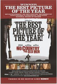 No Country For Old Men - 43 x 62 Movie Poster - Bus Shelter Style B