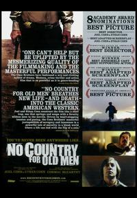 No Country For Old Men - 11 x 17 Movie Poster - Style D