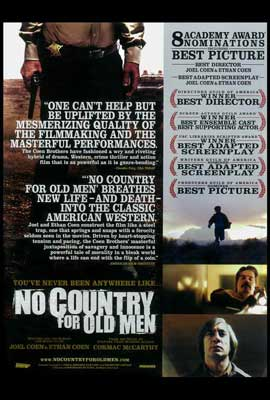 No Country For Old Men - 27 x 40 Movie Poster - Style D