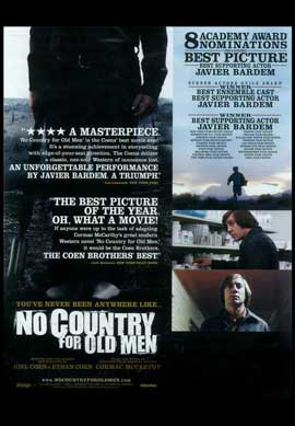 No Country For Old Men - 11 x 17 Movie Poster - Style E