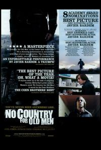 No Country For Old Men - 27 x 40 Movie Poster - Style E