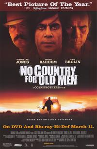No Country For Old Men - 43 x 62 Movie Poster - Bus Shelter Style C