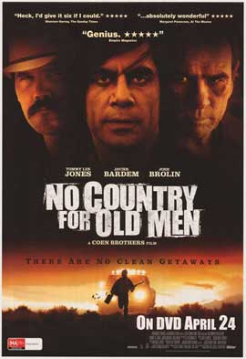 No Country For Old Men - 11 x 17 Movie Poster - Australian Style A