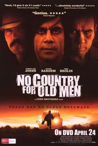 No Country For Old Men - 27 x 40 Movie Poster - Australian Style A