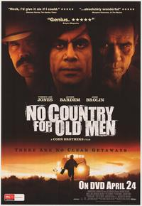 No Country For Old Men - 43 x 62 Movie Poster - Bus Shelter Style D