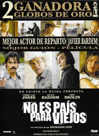 No Country For Old Men - 27 x 40 Movie Poster - Spanish Style A