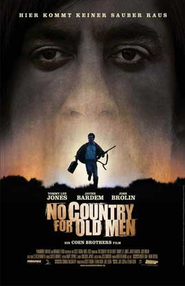 No Country For Old Men - 11 x 17 Movie Poster - German Style A