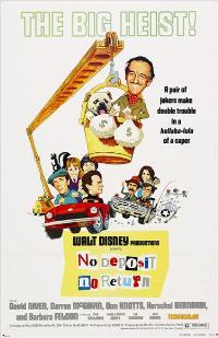 No Deposit, No Return - 43 x 62 Movie Poster - Bus Shelter Style A