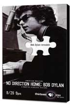 No Direction Home: Bob Dylan - 20 x 40 Movie Poster - Style A - Museum Wrapped Canvas