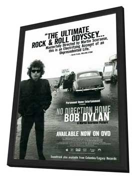 No Direction Home: Bob Dylan - 11 x 17 Movie Poster - Style A - in Deluxe Wood Frame