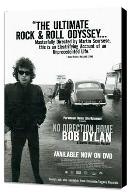 No Direction Home: Bob Dylan - 11 x 17 Movie Poster - Style A - Museum Wrapped Canvas