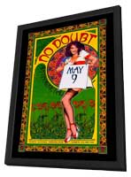 No Doubt - 11 x 17 Music Poster - Style A - in Deluxe Wood Frame