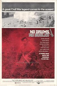 No Drums, No Bugles - 27 x 40 Movie Poster - Style A