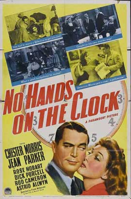 No Hands on the Clock - 11 x 17 Movie Poster - Style A