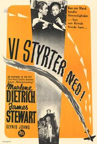 No Highway in the Sky - 27 x 40 Movie Poster - Danish Style A