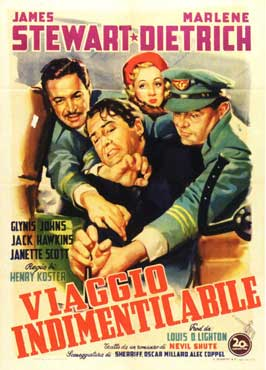 No Highway in the Sky - 11 x 17 Movie Poster - Italian Style A