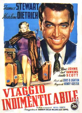 No Highway in the Sky - 11 x 17 Movie Poster - Italian Style B