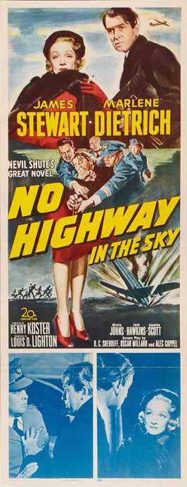 No Highway in the Sky - 14 x 36 Movie Poster - Insert Style A