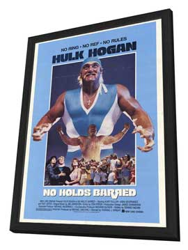 No Holds Barred - 27 x 40 Movie Poster - Style A - in Deluxe Wood Frame