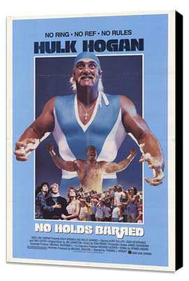 No Holds Barred - 27 x 40 Movie Poster - Style A - Museum Wrapped Canvas