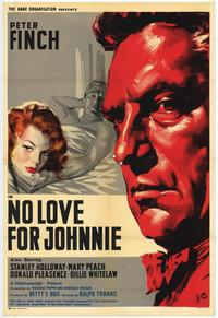 No Love for Johnnie - 11 x 17 Movie Poster - Style A
